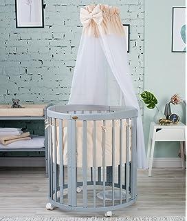 Comfortbaby C Kinder Baby Bett Oval 4 In 1 Aus Buche