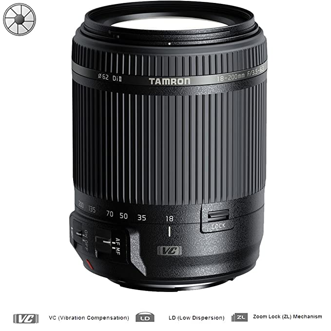 Review Tamron 18-200mm Di II