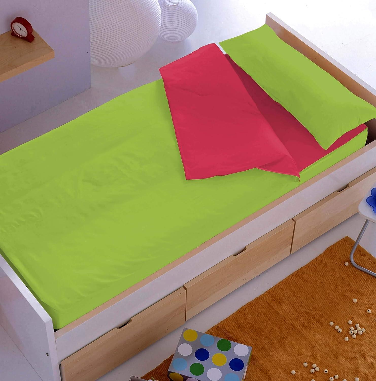 Disponible en 10 Colores Denisa Home Saco N/órdico Liso con Relleno 200 Gr//m2 90 cm, Arena-Perla