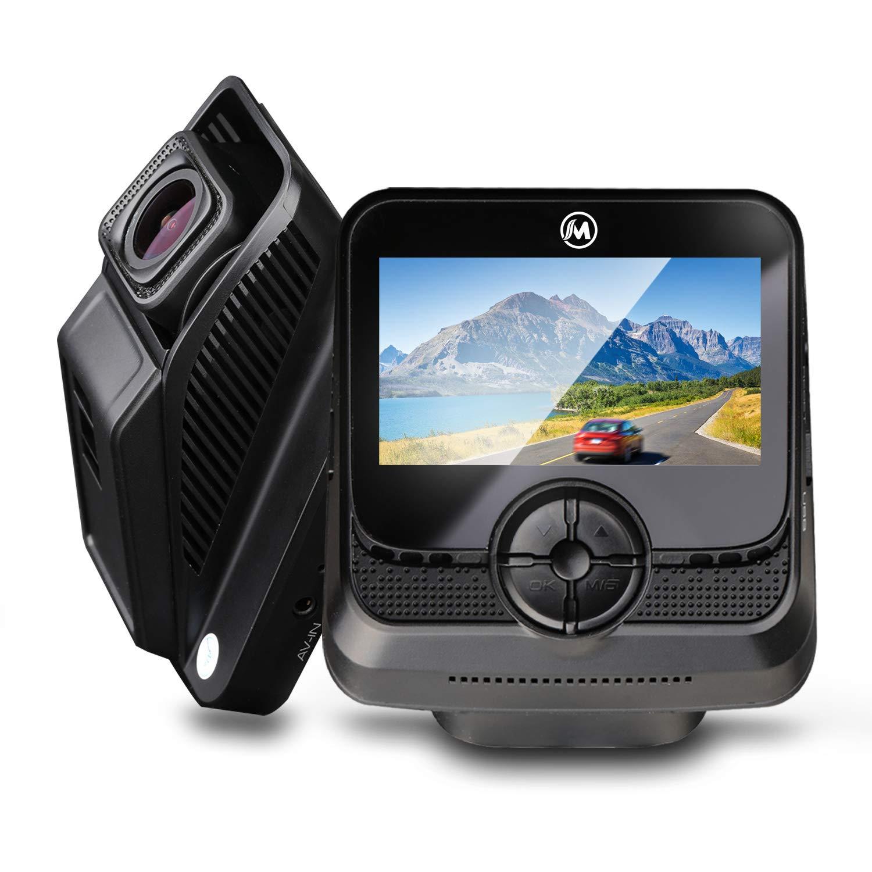 【高画質 WIFI搭載】ドライブレコーダー 1080PフルHD SONYセンサー WIFI搭載 1200万画素 170度広角 車載カメラ 小型ドラレコ [1年保証] G-sensor/駐車監視/衝撃録画/動体検知 WDR LED信号機対応 リアカメラ バックカメラ 2.45インチ 防犯カメラ ドラレコ (黒)