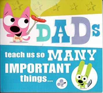 Amazon hoops yoyo fathers day greeting card with sound by hoops yoyo fathers day greeting card with sound by hallmark m4hsunfo