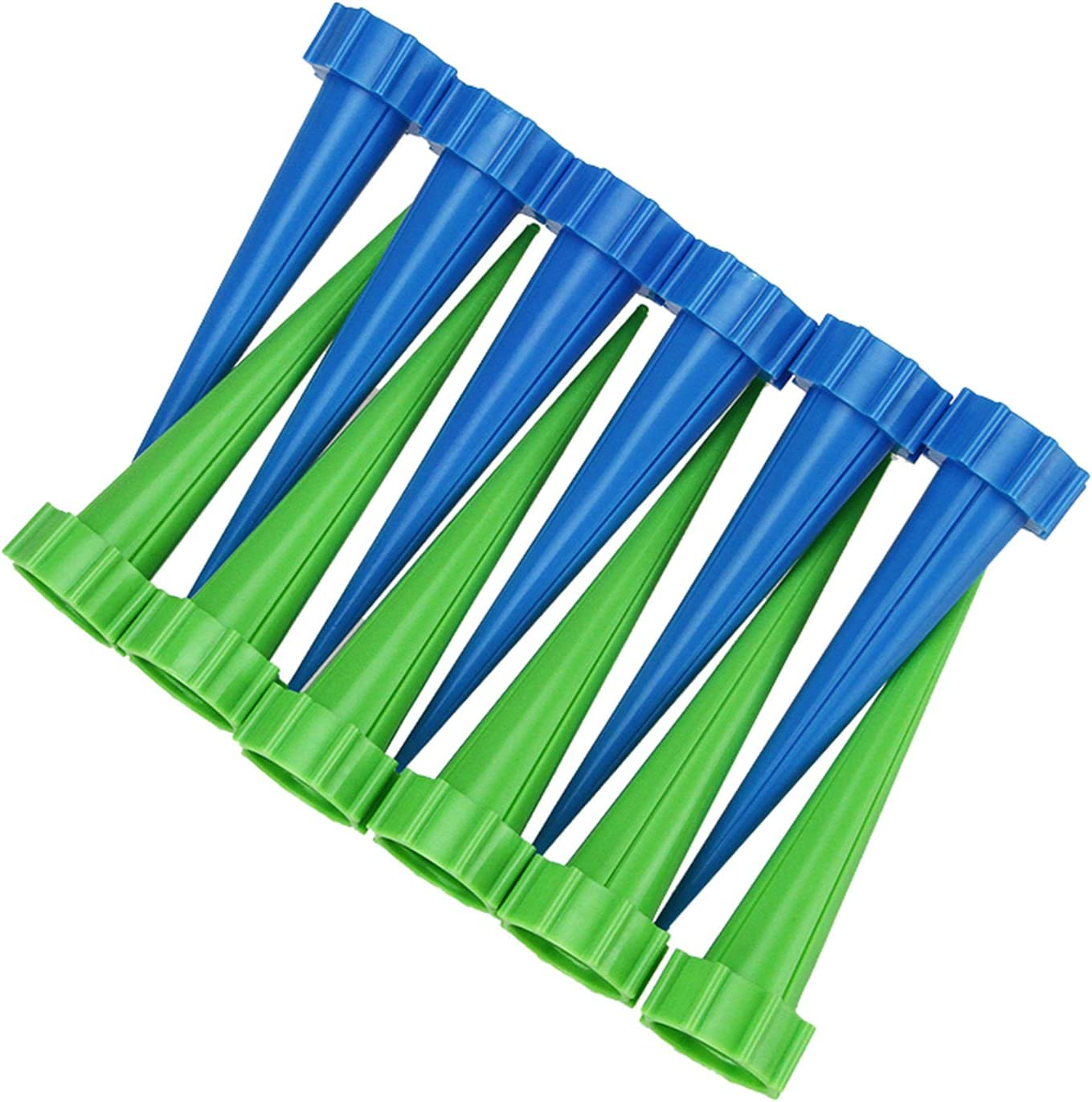TS LLC 12pcs Automatic Watering Devices Garden Cone Watering Spike Plant Bottle Irrigation Flower Waterier for Indoor Outdoor Plant