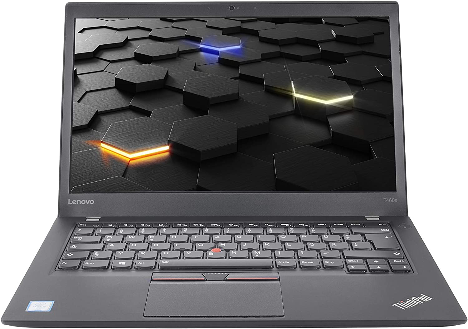 Lenovo ThinkPad T460s i5 (6.Gen) – 14 pulgadas, 12 GB de RAM, 500 GB SSD, FHD IPS, HDMI, cámara, Backlight – Ultrabook (reacondicionado)