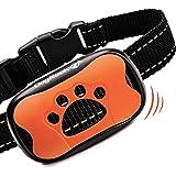 DogRook Dog Bark Collar- Humane Anti Barking Training Collar - Vibration No Shock Dog Collar - Stop Barking Collar for Small Medium Large Dogs - Best No Barking Control Dog Collar