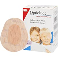 Arm 3M Opticlude Orthoptic Adhesive Eye Patch For Occlusion Therapy 5Cm*6.2Cm Box Of 20