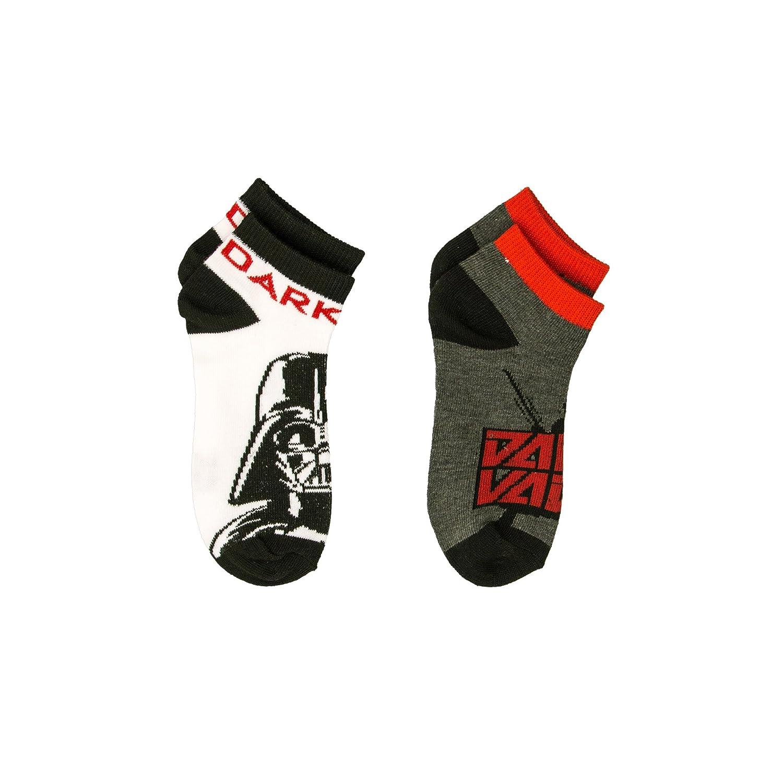 Star Wars Disney Boys Size 6 8 Ankle 2 Pairs Socks Multi Colors