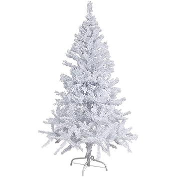 Kunststoff Weihnachtsbaum.Kunstlicher Weihnachtsbaum Weiss 180 Cm
