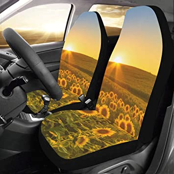 sunflower baby car seat covers