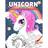 Letter Tracing Books for Kids Ages 3-5: Unicorn Handwriting Practice, Letter Tracing Book for Preschoolers, Handwriting Workb