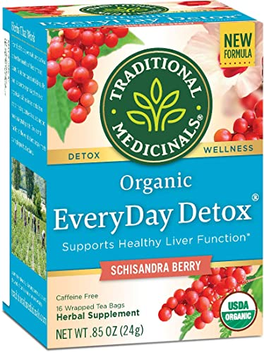 Medycyna tradycyjna Herbata Schisandra Berry Detox EveryDay Organic Detox Tea