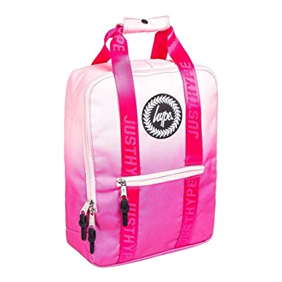 HYPE Peach Pink Fade Boxy Backpack - Backpack Rucksack Bag - Ideal School  Bags - Rucksack For Boys and Girls - Official Stockist  Amazon.co.uk  Shoes    Bags 3192dd6cfeb15