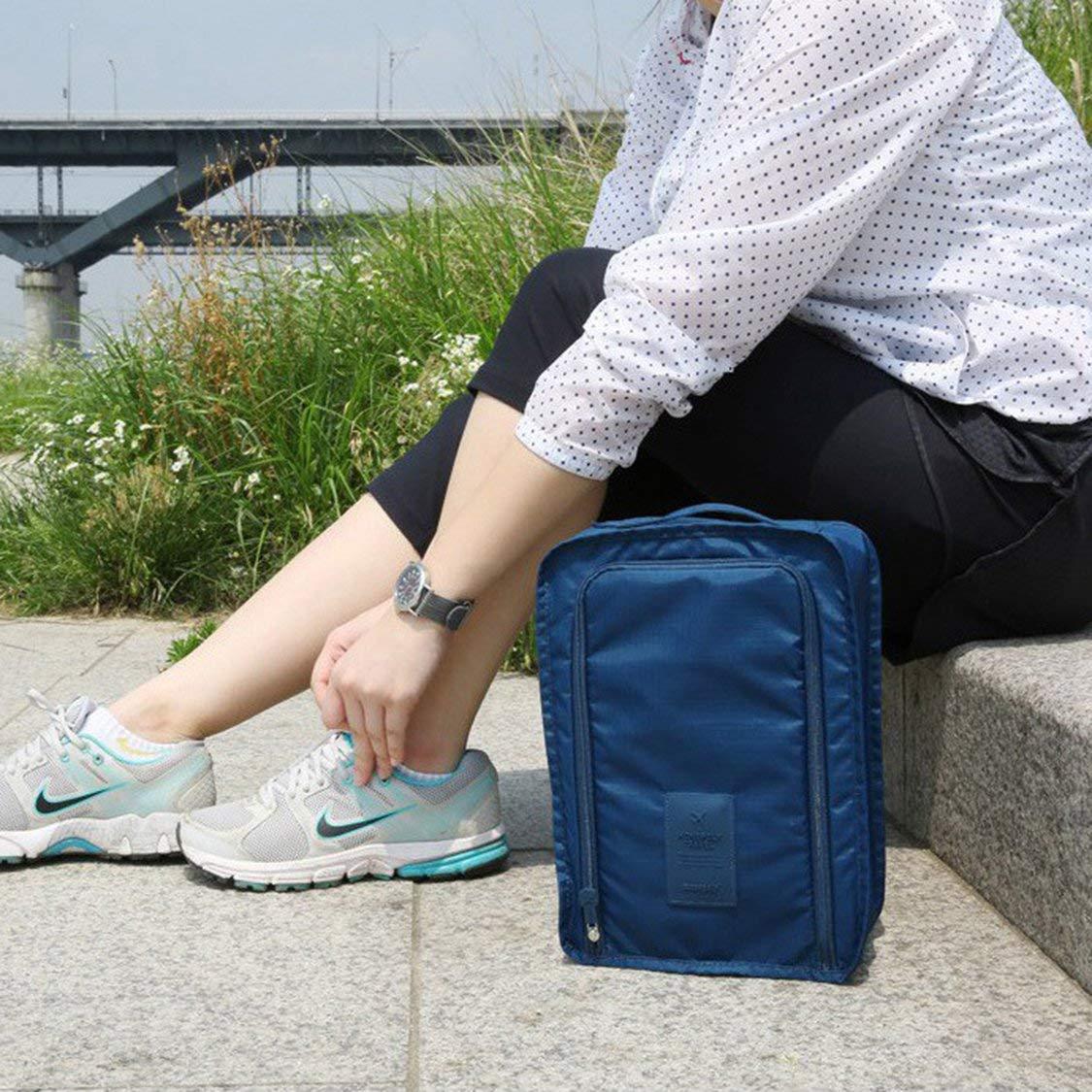 Sacs de Rangement pour Hommes Bleu Marine Vige Sacs de Rangement pour Chaussures imperm/éables Hommes et Femmes
