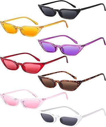 Mens Womens Fashion Sunglasses Vintage Shades Cute Eyewear Retro UV400 Glasses