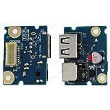 LENOVO G480 G485 G580 POWER JACK DC SOCKET CONNECTOR USB PCB BOARD E107