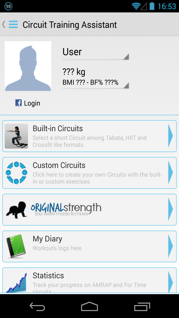 Circuit Training Assistant Appstore For Android Workouts Timers Tabata Hiit And Are Included