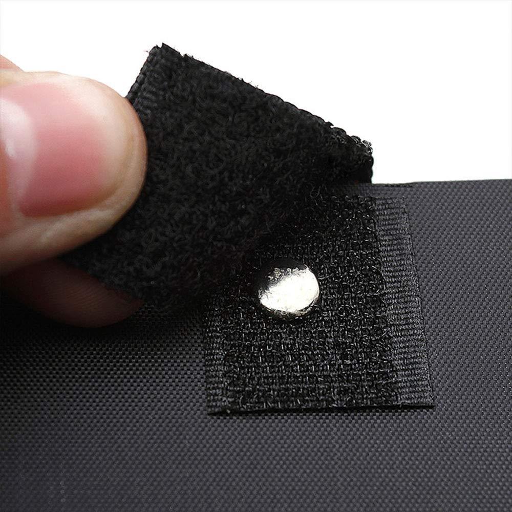 K/ünstler Zeichenbrett wasserdicht tragbare Kunstkopie Skizzenblock mit verstellbaren Rucksack Schultergurten 41,5 55,5 cm schwarz