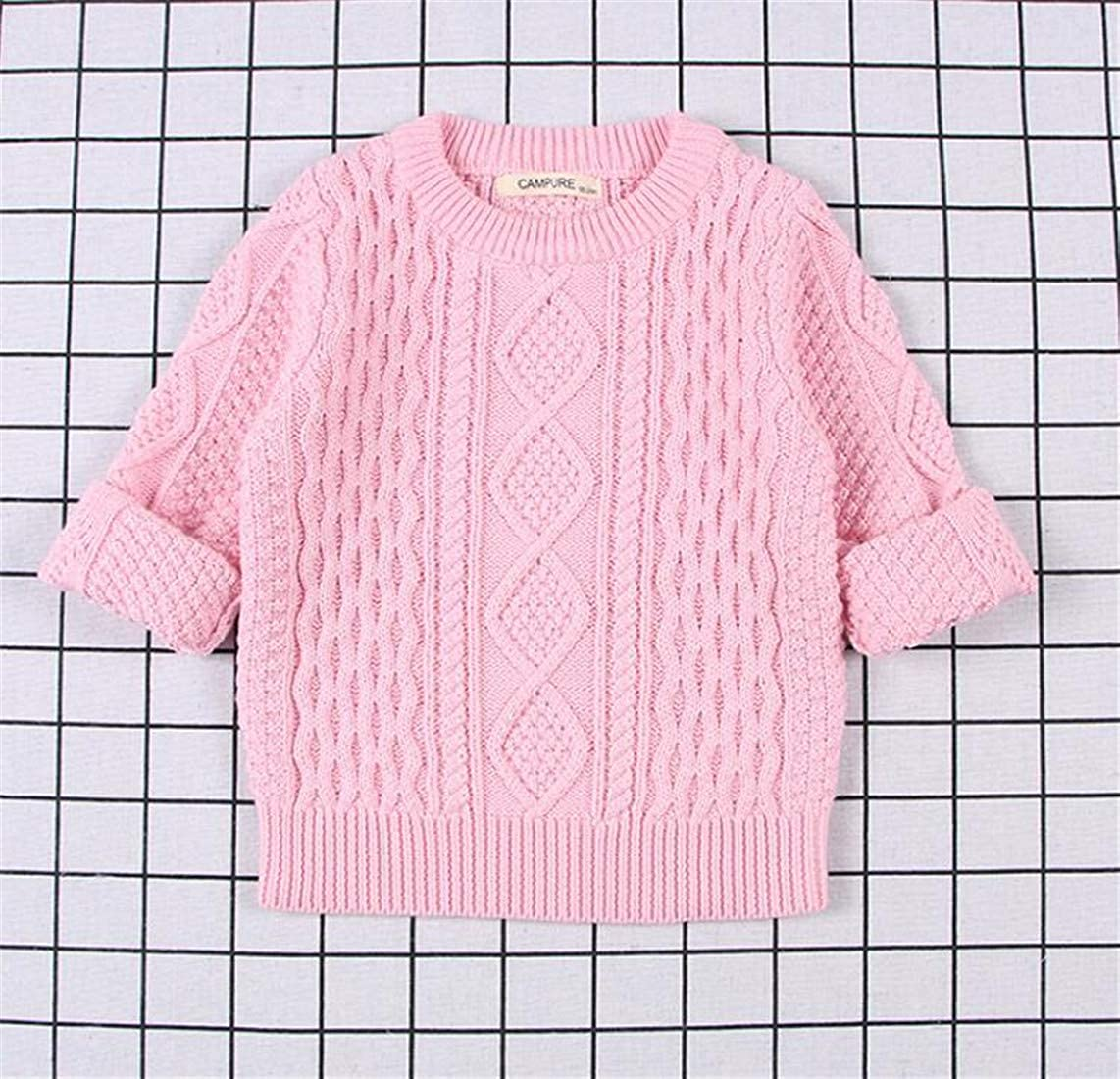 JSY Boys Girls Pullover Fashion Jumper Cute Knitted Sweaters