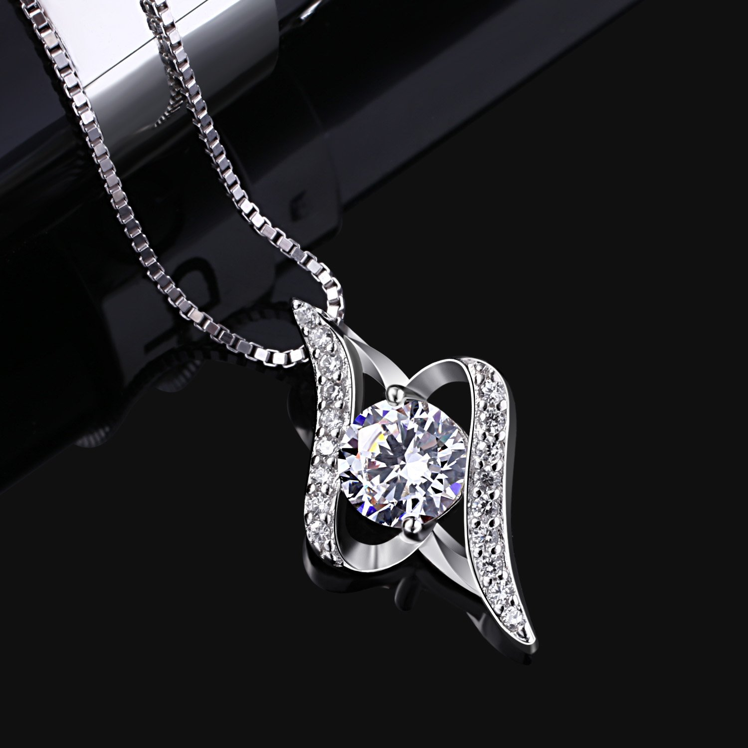 cubic long product pm clear w lariat mar zirconia silver photo ruth necklace jewelry barzel gold