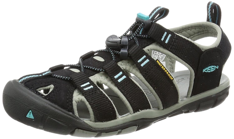 KEEN Women's Clearwater CNX Sandal B01H764WV2 8 B(M) US|Black/Radiance