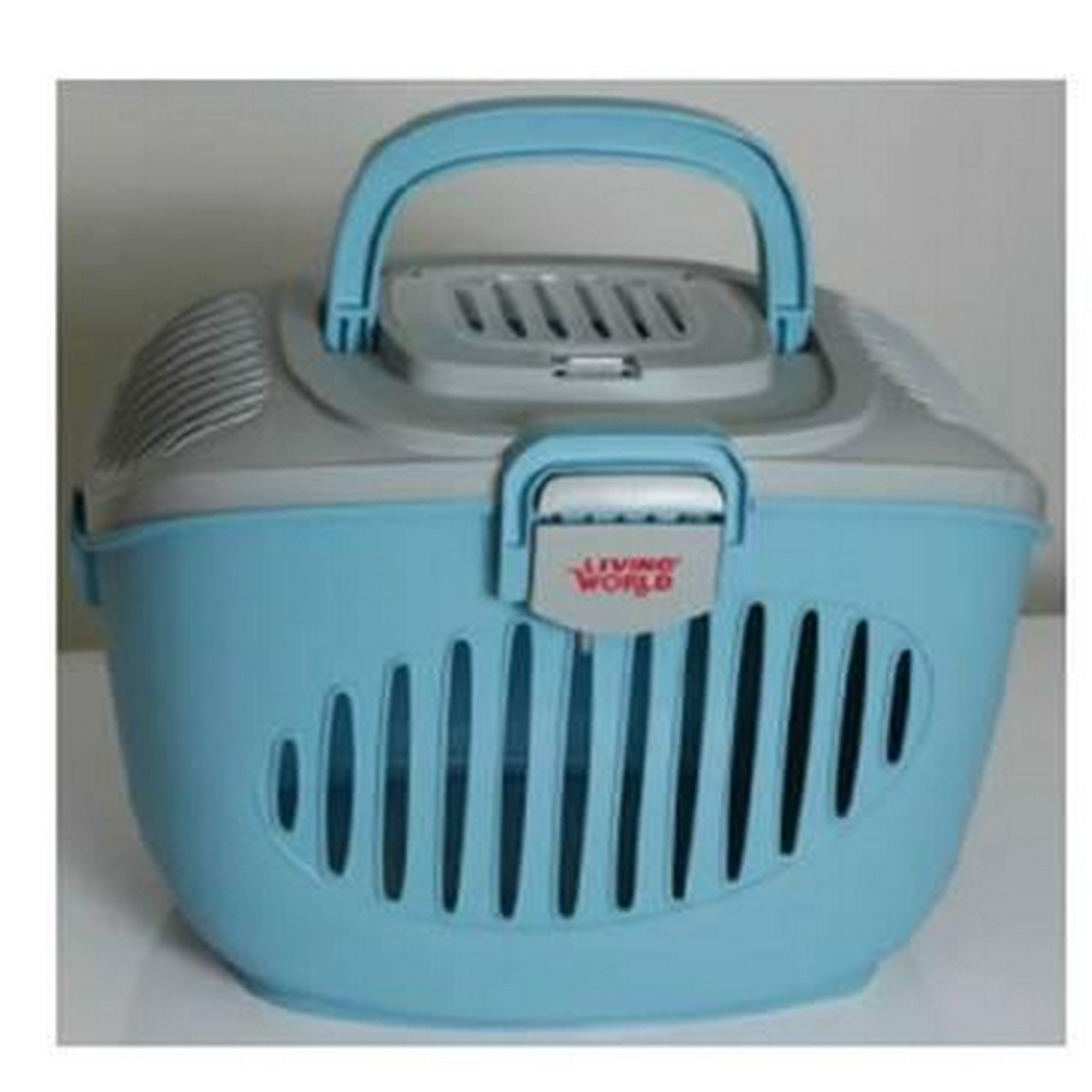 Rolf C Hagen Living World Paws2go Cat Carrier (One Size) (Gray/Blue)