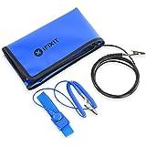 iFixit Portable Anti-Static Mat, Vikbar antistatisk matta för att skydda känslig elektronik från statisk urladdning, ESD…