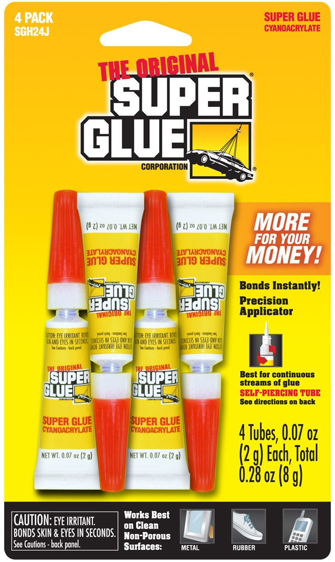 Super Glue Super Glue SGH24J-12 2-Gram Tubes, 48-Pack(Pack of 48)