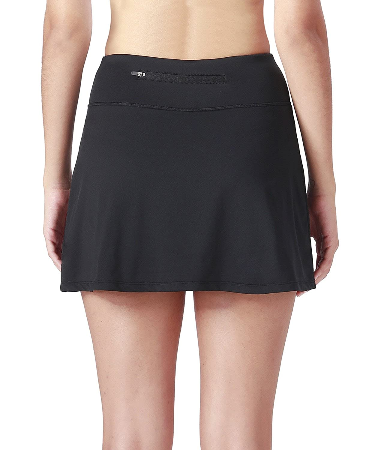 d5019fb45 Amazon.com: Naviskin Women's Active Athletic Skort Lightweight Skirt with  Pockets Inner Shorts Perfect for Running Golf Tennis Casual Use: Clothing