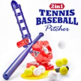 CubicFun Baseball Pitching Machine for Kids Outdoor Toys for Kids 6-12 Boys Girls, Baseball Tennis Training Outdoor Toy for B
