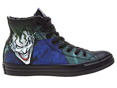 2965d05652e6 Converse DC Comics The Joker Chuck Taylor Black Sneakers (7.5 M US ...