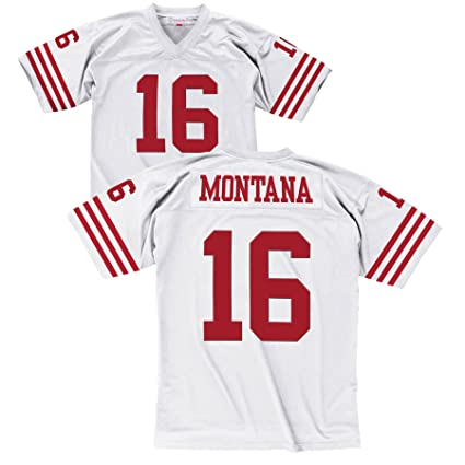 Amazon.com   Mitchell   Ness San Francisco 49ers Joe Montana White ... 35b207074