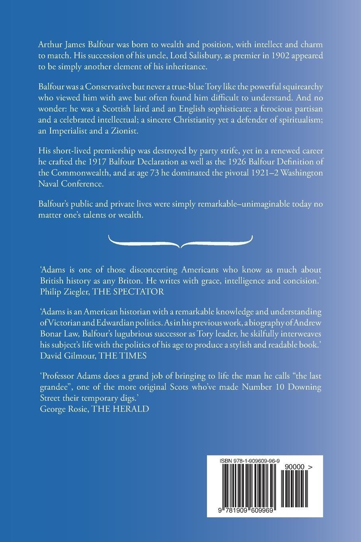 Balfour The Last Grandee Rjq Adams 9781909609969 Amazon