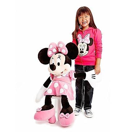 Amazon Com Giant Pink Disney Minnie Mouse Plush Toy Large 30 Soft