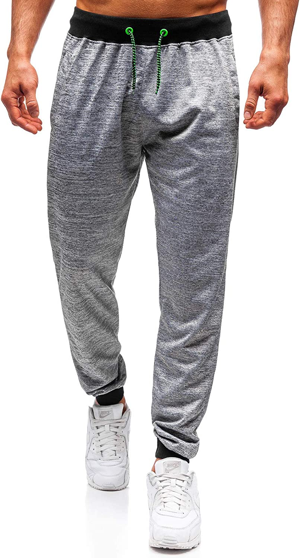 da Uomo Mix 6F6 Stile Casual BOLF Pantaloni Joggers Sportivi