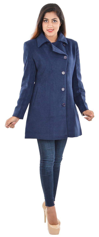 8c13b7c00d73 Vedas Women's Regular Fit Blazer (C001--XXL, Blue, XX-Large): Amazon.in:  Clothing & Accessories