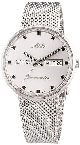 11e67149ab20 MIDO Commander M842942111 - Reloj de caballero automático