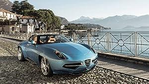 Lilarama USA 2016-Alfa-Romeo-Disco-Volante-Spyder-Touring-V1-Super Car Classic Car - Giant Poster Print - Cool Wall Decor Art Print Poster