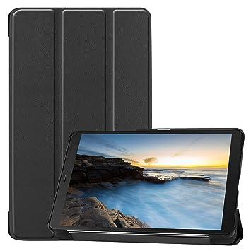 ProCase Funda Folio para Galaxy Tab A 8.0 2019 SM-T290/T295, Carcasa Tipo Libro Fina con Soporte para 8.0 Pulgadas Galaxy Tab A 2019 Tablet, ...