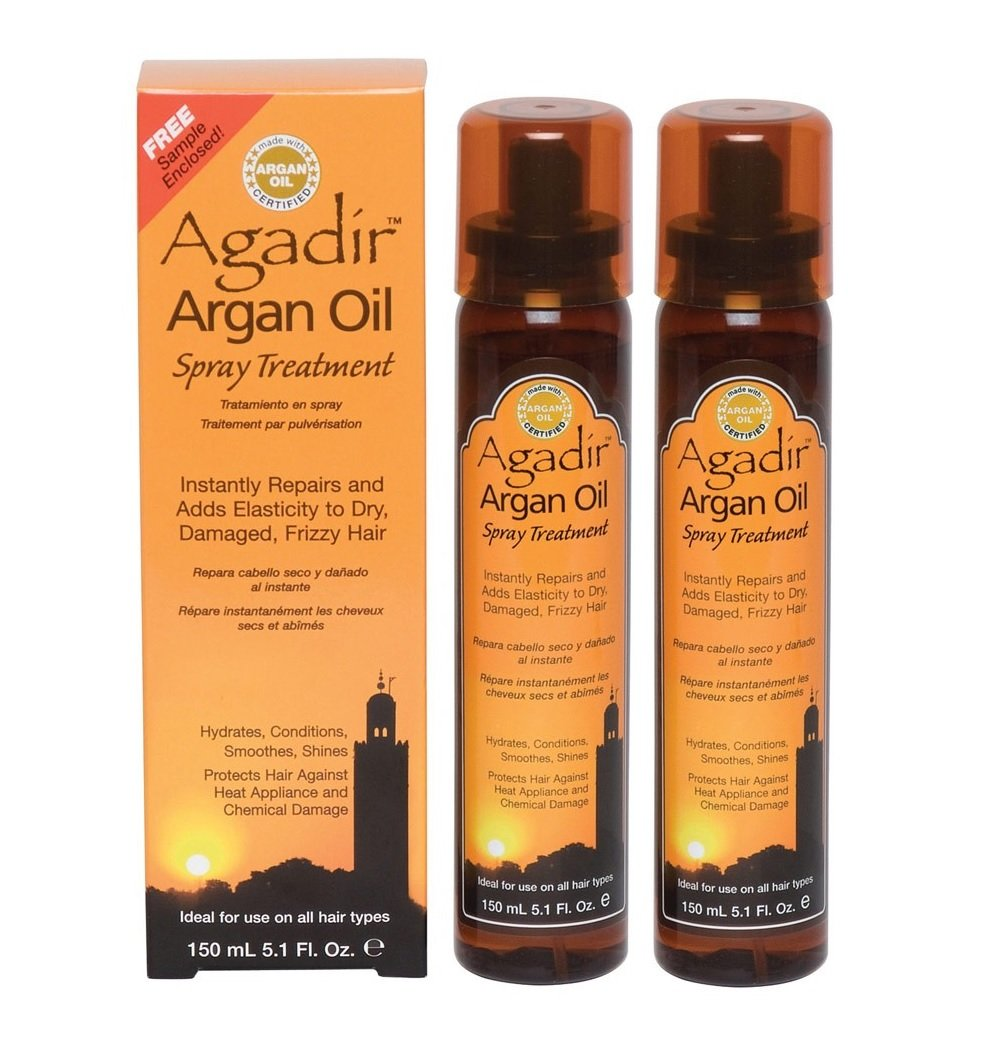 Agadir Argan Oil Spray Treatment, 5.1 oz (Pack of 2)