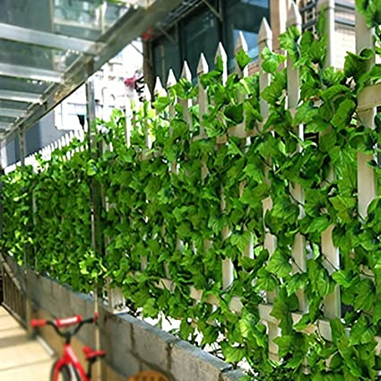 Qualified 5 Piece Like Real Artificial Apple Leaf Garland Faux Vine Ivy Indoor Outdoor Home Decor Wedding Flowers Plant Green Leaves Vine Festive & Party Supplies Home & Garden