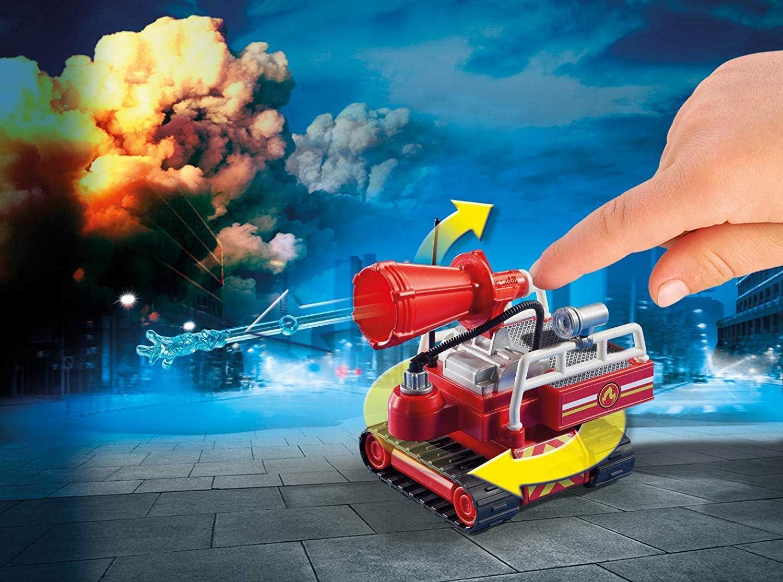 PLAYMOBIL- Robot de Extinción Juguete, Multicolor (geobra Brandstätter 9467): Amazon.es: Juguetes y juegos