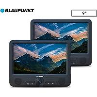 """Blaupunkt 9"""" Dual Screen Portable DVD Player"""