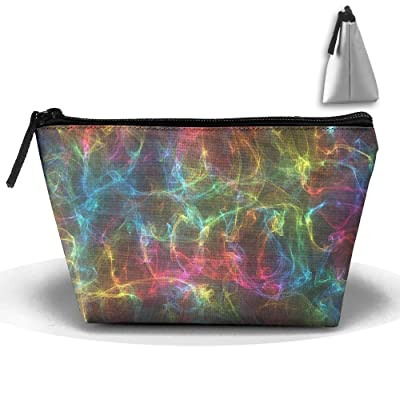 Abstract Colorful Cool Creative Portable Pouch Waterproof Trapezoidal Storage Bag