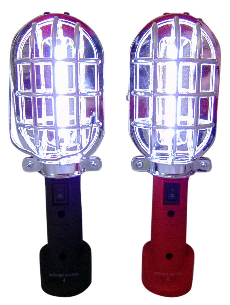 Trouble Light Extra Bright COB Handheld LED Work Safety Flashlight, Set of 2