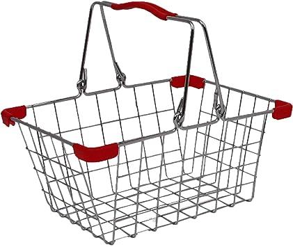 Tanner 4065, Cesta metálica de compras y para bicicleta, 24 x 18 x ...