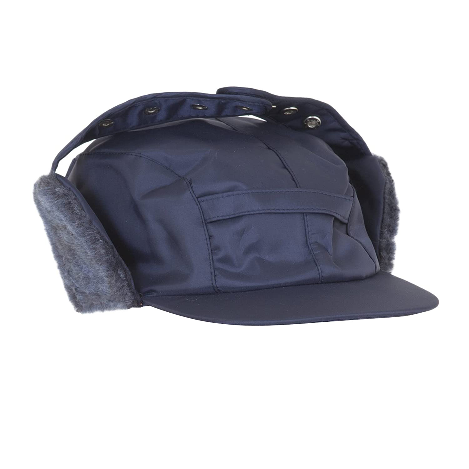 Mens Water Proof Thermal Trapper Hat with Ear Flaps 59cm Navy