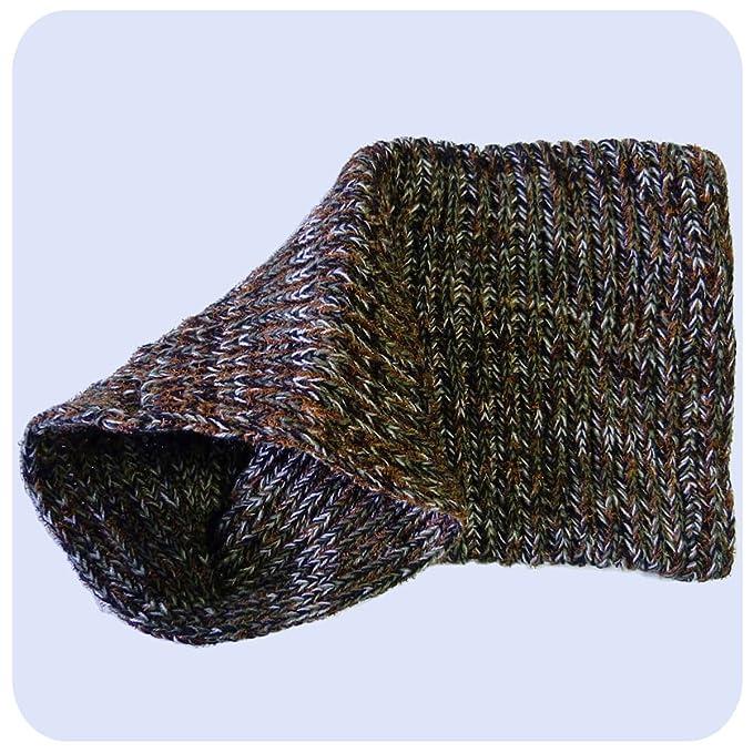 Schlauchschal Strickschal Schlauch Schal Kopftuch Dread Wrap Multischal Wolle