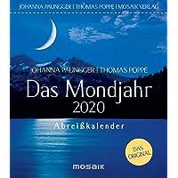 Das Mondjahr 2020: Abreißkalender - Das Original