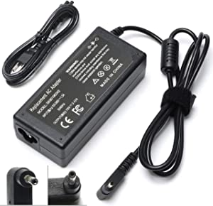 65W 19V 3.42A Laptop Adapter Charger for Acer Chromebook 15 14 13 11 R11 C720 C720P C740 CB3 CB5 CB3-111 CB5-571 CB3-131 fits PA-1450-26 PA-1650-80 Acer Iconia W700 W700P Tablet Supply Cord