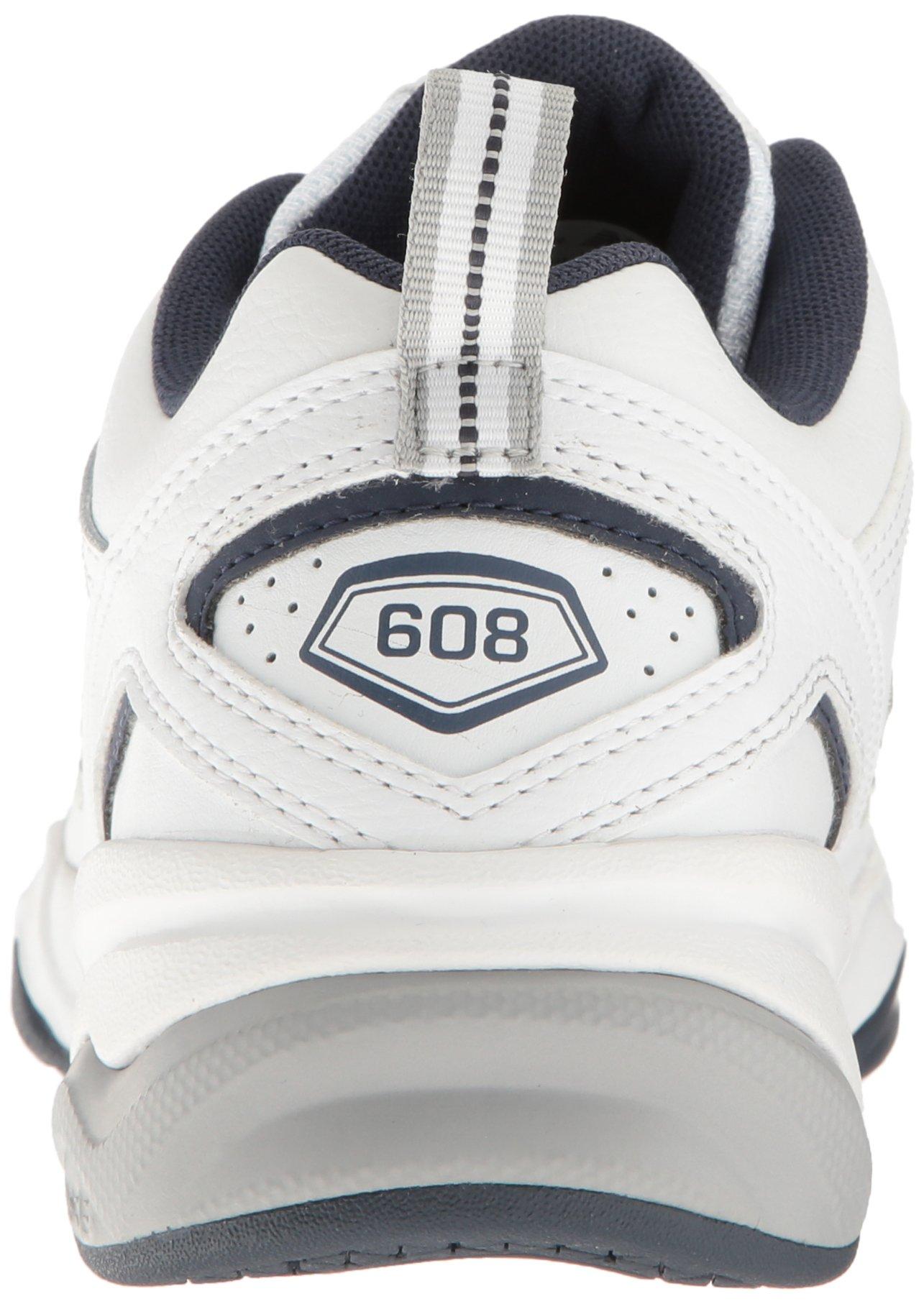 New Balance Men's MX608v4 Training Shoe, White/Navy, 7.5 4E US by New Balance (Image #2)