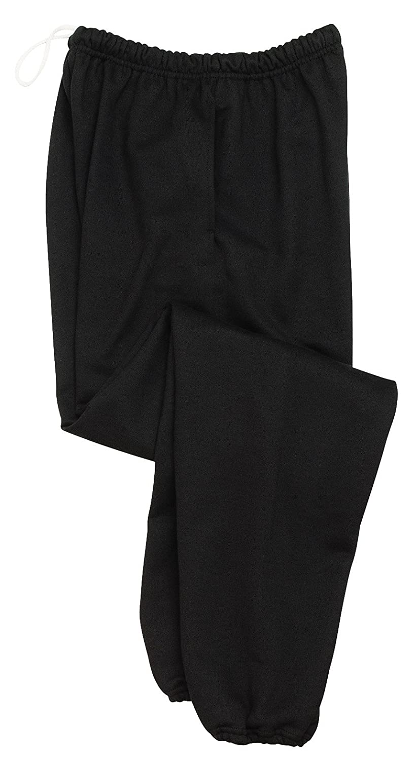 Noir  3XL Jerzees Hommes's Super Sweatpants With Pocket